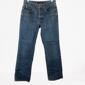 J. Crew Straight Leg Button Fly Medium Wash Jeans